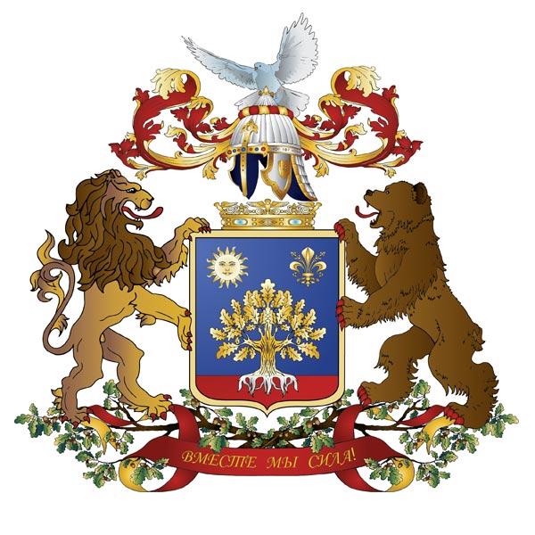 Герб семьи. Голубь