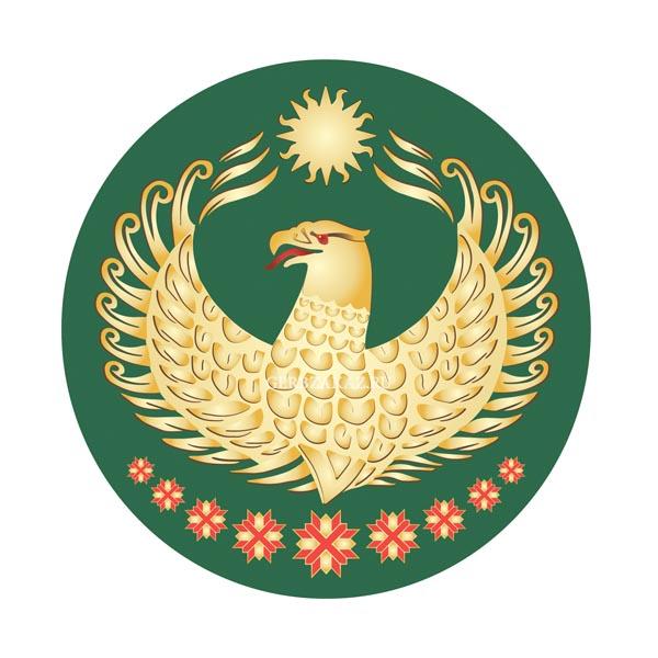 Герб Докузпаринского района