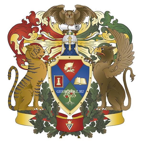 Личный герб логотип